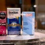 Kontaktlinsenpflege in praktischer Reisegröße